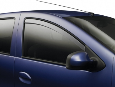 Wind deflector front