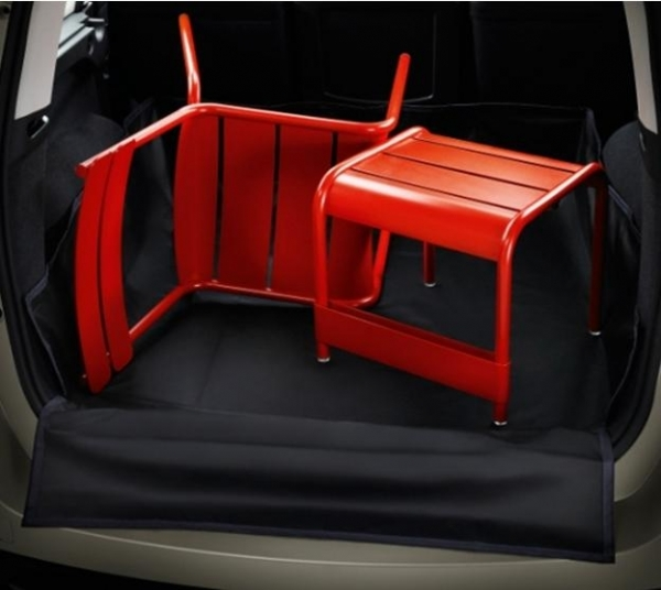 Trunk protection mat