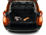 Trunk protection mat, temporary