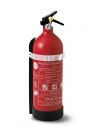 Fire extinguisher, multipurpose powder 1kg with pressure gauge