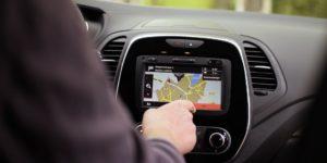 Renault Captur Touchscreen