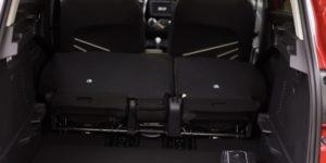 Renault Captur verschiebbare Sitze
