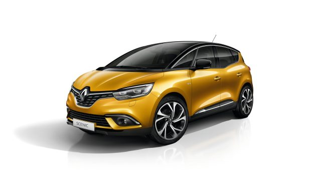 Renault SCENIC gelb