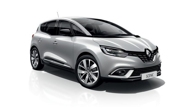 Renault SCENIC silber