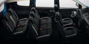 Dacia Lodgy Sitzplätze