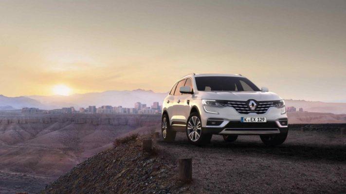 Renault Koleos weiß