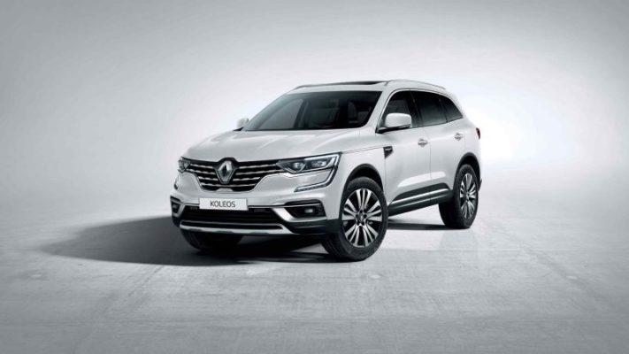 Renault Koleos weiß Initiale Paris